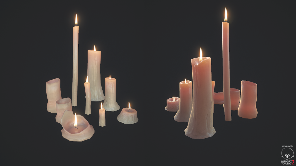 Candles asset final preview