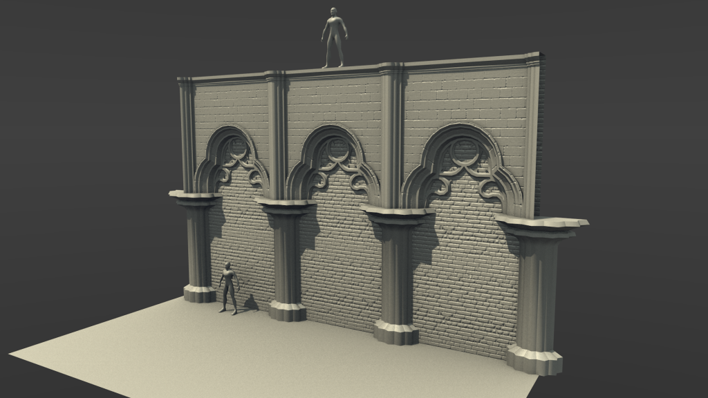 Always have a real world scale reference for your meshes! otherwise you can end up with stairs made for trolls and giants, or 10 inches doors
